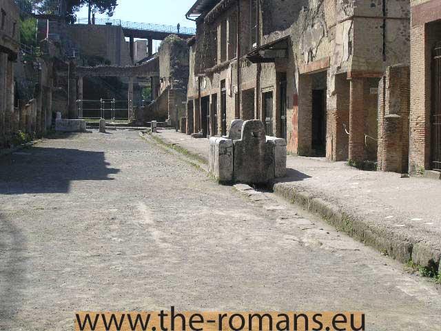Decumanus Maximus On The Streets