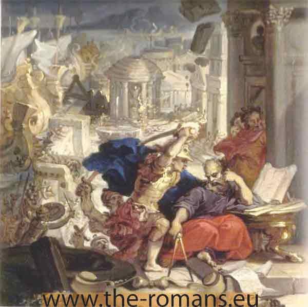 murder of archimedes