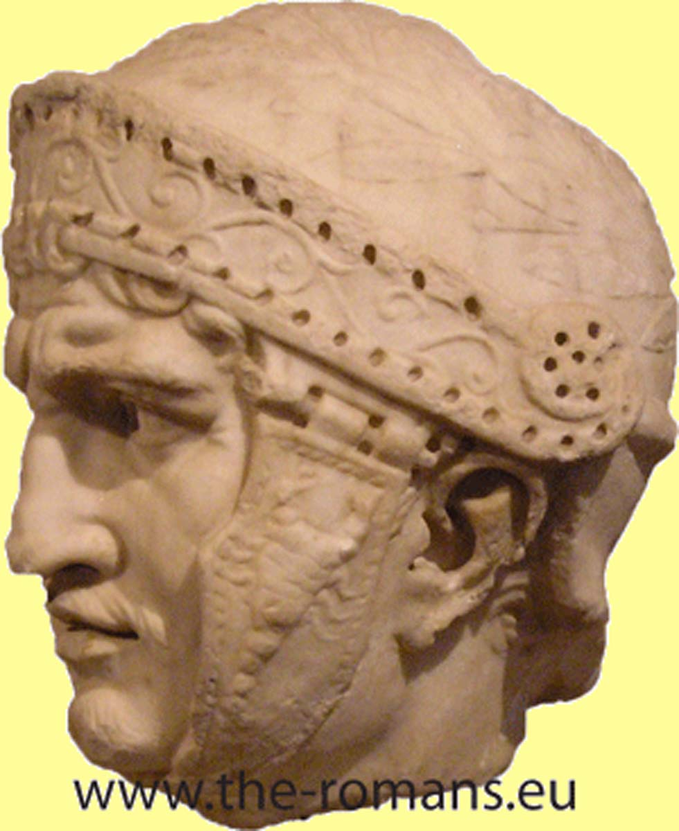Head of a Roman officer