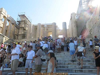Stairway to the Propylaia
