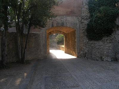 Gate in the Roman wall