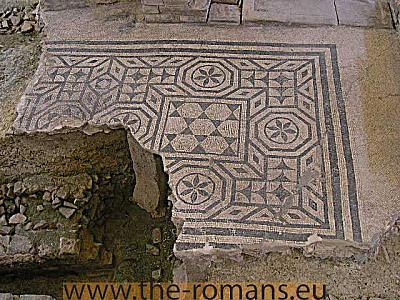 Remains of a  floor mosaic