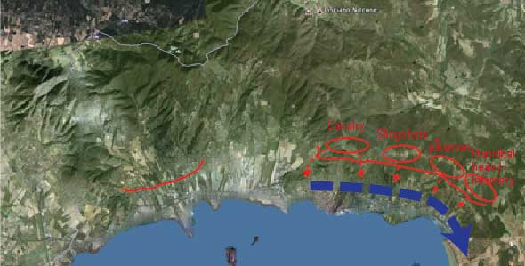 Battle of lake Trasimeno
