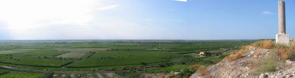 The battlefield at Cannea