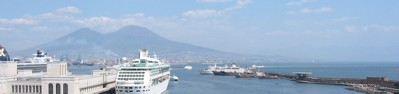 Vesuvius and the bay of Naples