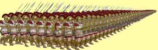 Phalanx the Spartan invention